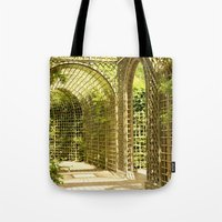 Gardens of Versailles Tote Bag