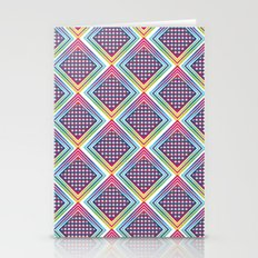 Gradient Circle Stationery Cards