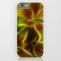 Orange Lily iPhone 6 Slim Case