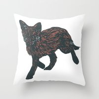 First Steps Into The New… Throw Pillow