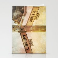 Sunset In the Haight Stationery Cards