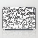 LOVE IS PATIENT... iPad Case