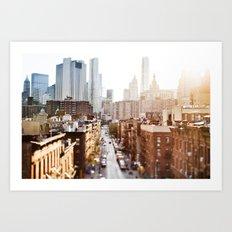 New York print Art Print