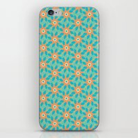 Tropical Florals iPhone & iPod Skin