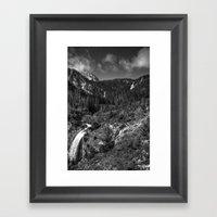 Wallowa Mountains, North… Framed Art Print