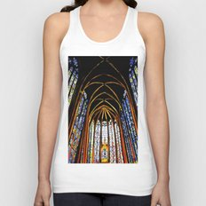 Sainte Chapelle Unisex Tank Top