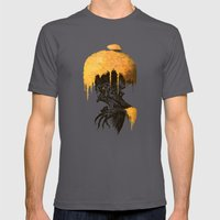 Old one Mens Fitted Tee Asphalt SMALL