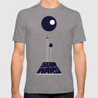 A New Hope II Mens Fitted Tee Tri-Grey SMALL