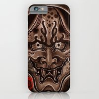 iPhone & iPod Case featuring oni by sharktankillustrations