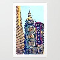 North Beach, San Francis… Art Print
