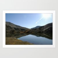 Yakima Canyon Art Print