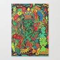 Aztec Happy Place Canvas Print