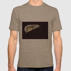 the leaf Mens Fitted Tee Tri-Coffee SMALL