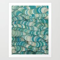 Wave Maker Art Print