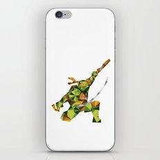 Nunchaku Turtle iPhone & iPod Skin