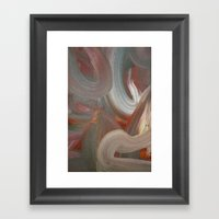 Earth's Aura Framed Art Print