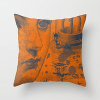 Looking Down The Wishing… Throw Pillow