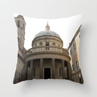 Bramante's Tempietto Throw Pillow