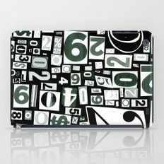 Numbers by Friztin iPad Case