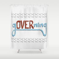 gOVERning Shower Curtain