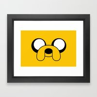 Jake The Dog Framed Art Print