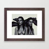 Ripples.  Framed Art Print