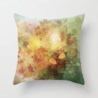 Autumn Whispers Throw Pillow