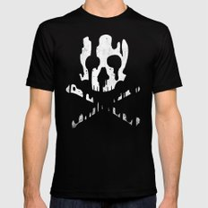 Skullmelt Mens Fitted Tee SMALL Black