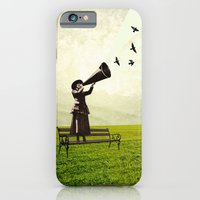 iPhone & iPod Case featuring singing birds by swinx