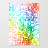 spectrum construct Canvas Print