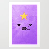 Adventure Time - Lumpy S… Art Print