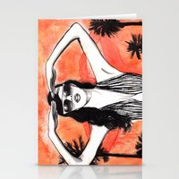LA Burn Stationery Cards