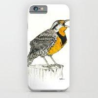 Eastern Meadowlark iPhone 6 Slim Case