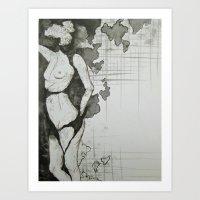Continents  Art Print