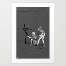 Janet And John Play The Blair Witch Project Art Print