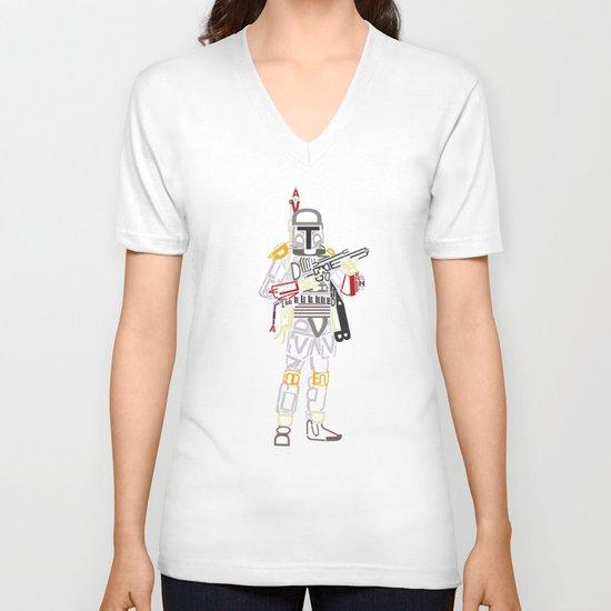Boba Font V-neck T-shirt