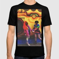 Vibrance  Mens Fitted Tee Black SMALL