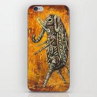 Walking Elephant iPhone & iPod Skin