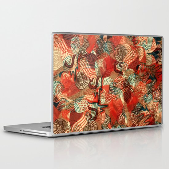 Melting Mix Laptop & iPad Skin