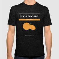 Family Recipe Mens Fitted Tee Tri-Black SMALL