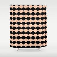 Undulation Shower Curtain