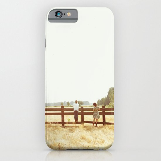 Fence Standing iPhone & iPod Case