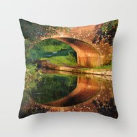 Sunlight Bridge Throw Pillow