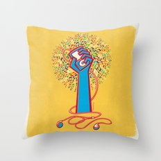 Pop Revolution Throw Pillow