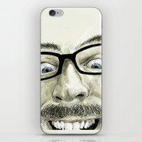 self-portrait iPhone & iPod Skin