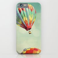 iPhone & iPod Case featuring Perfect Dream - Hot Air Balloons by Tricia McKellar