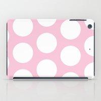 Pink Polka Dot iPad Case