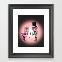 Rose For My Sad Valentin… Framed Art Print