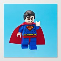 Superman's Guilty Secret Canvas Print