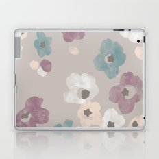 Watercolor Blooms - in Taupe Laptop & iPad Skin